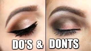 Download Eyeshadow Do's and Don'ts Mp3 and Videos