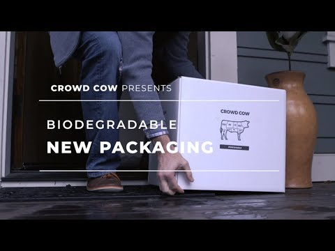 New Biodegradable And Eco-friendly Crowd Cow Packaging