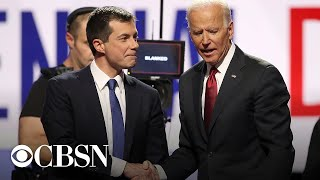 President-elect joe biden and vice kamala harris are set to formally introduce pete buttigieg, the former mayor of south bend, indiana, who c...