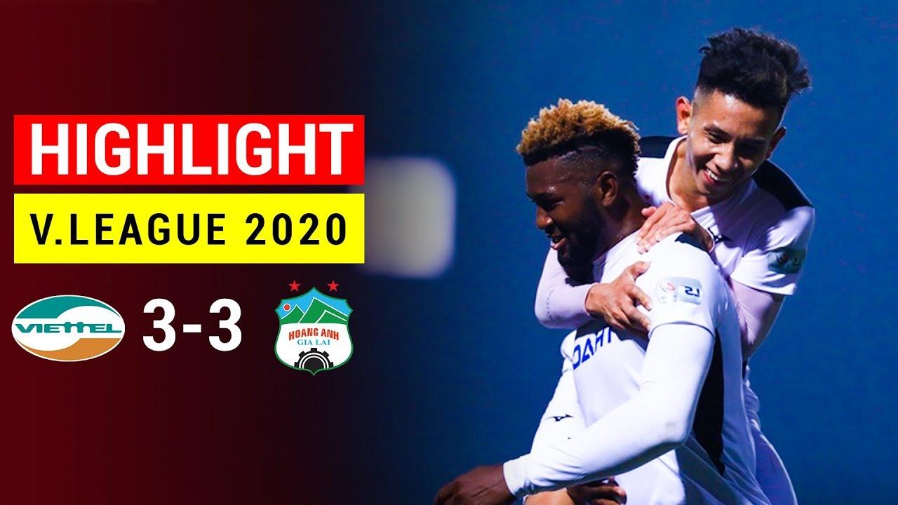 Highlight 4K | Hoàng Anh Gia Lai vs Viettel | Siêu kịch tính: 5 bàn thắng trong 10 phút
