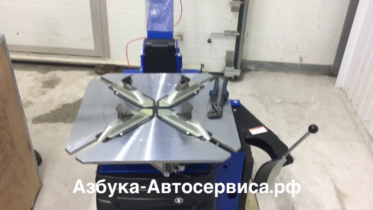 Шиномонтажный станок Сивик КС-402А (Sivik) - YouTube