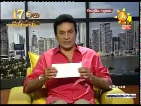 Chairman of Asia Broadcasting Corporation Rayynor Silva Donates Rs 500,000 to Ruwan Weerasekara