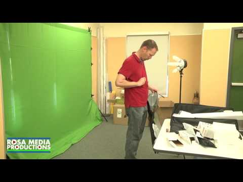 Elementary School Video Studio Set up