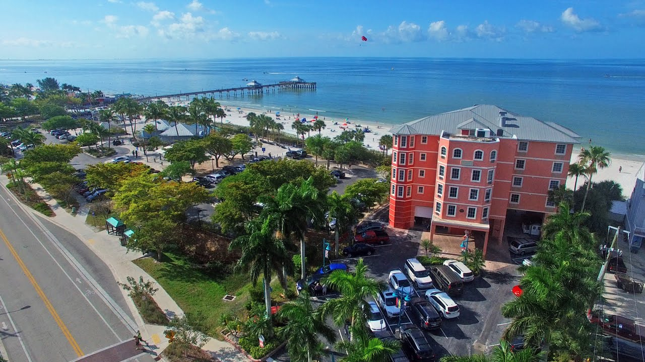 Aerial Video Of The Edison Beach House Fort Myers Beach Fl Youtube
