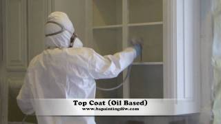 Kitchen Cabinets Painting | Dallas Ft. Worth | Stain To Paint Cabinets