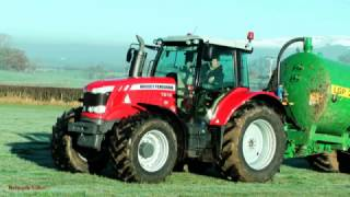 Tanking in Frosty Weather - with Massey.