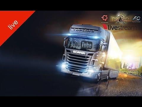Euro Truck Simulator 2. Multiplayer. Ёкарный бабай жми.18+