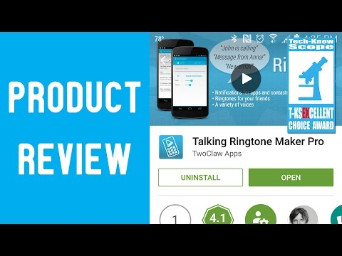 ▶️ App Review | Talking Ringtone Maker Pro (For Android)
