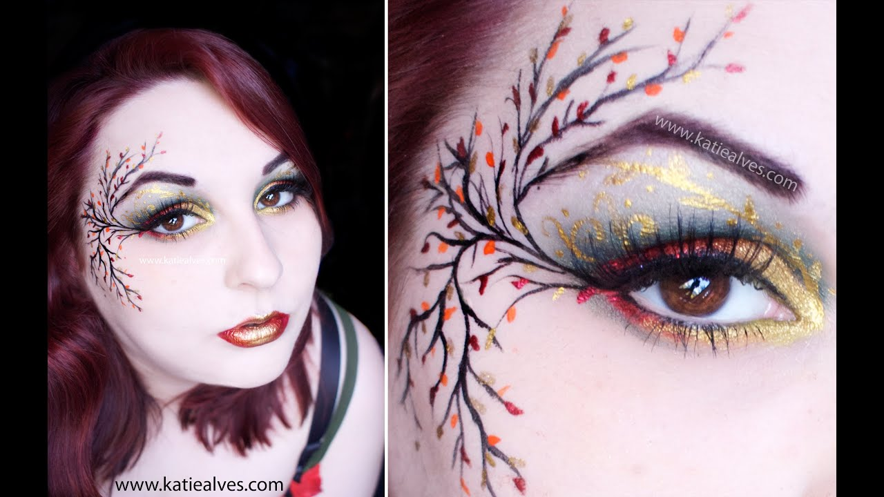 Fall fairy makeup tutorial youtube fall fairy makeup tutorial baditri Images