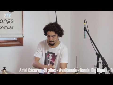 Ariel Cáceres - DRUMMER TV ARGENTINA ® 2016 - Rincón Under