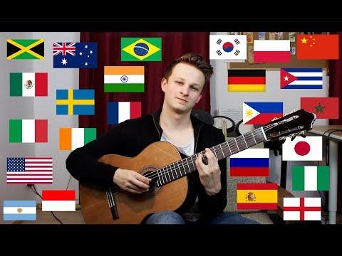 1 Guitar 24 Countries