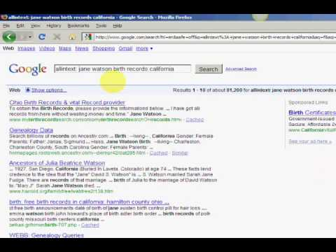 free birthday lookup database How To Find Birth Records On ANYONE   YouTube free birthday lookup database