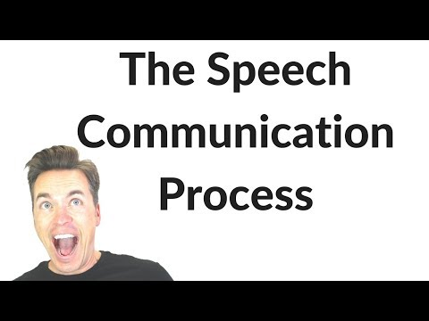 The Speech Communication Process | COMMUNICATION STUDIES