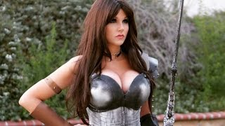 Game of War Cosplay -Scale Armor Bra Tutorial & CONTEST!