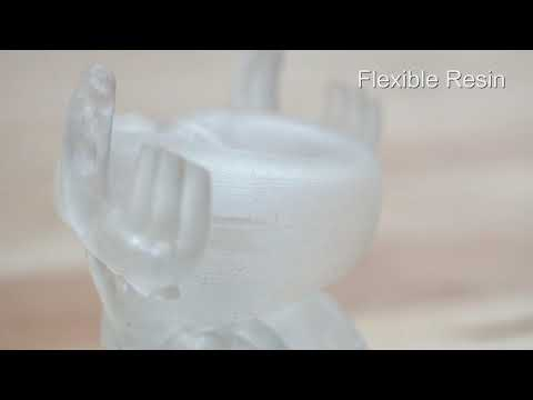 Flexible Resin 500 CC - Sync Innovation 3D Printer