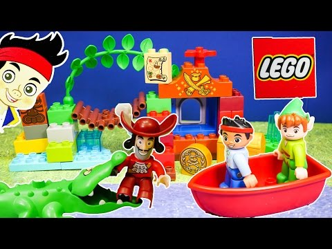 Unboxing the Jake and the Neverland Pirates  Lego Duplo Peter Pan Toys