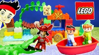 JAKE AND THE NEVER LAND PIRATES Disney Junio Jake Lego Duplo Peter Pan Video Toy Review
