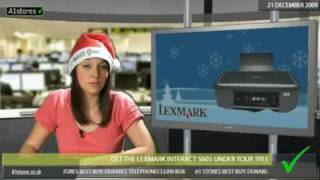 Get the LEXMARK INTERACT S605 under your tree