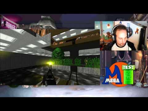 MegatestRetro sur Brutal Doom One - Planète 1