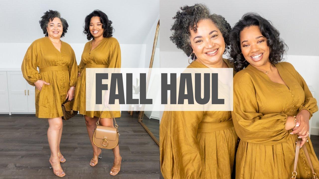 September 2021 Fall Haul   Capsule Wardrobe Pieces