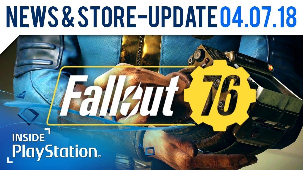 Neue Informationen zu Fallout 76! | PlayStation News & Store Update