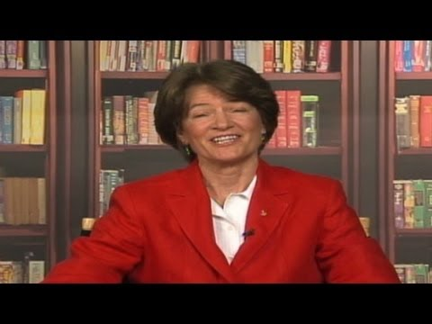 Astronaut Sally Ride discusses her experience in space