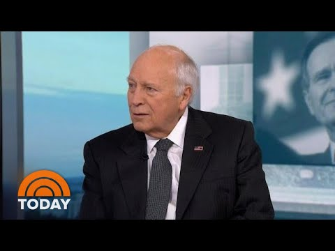 Dick Cheney Speaks Out On The Life And Legacy Of President George H.W. Bush | TODAY