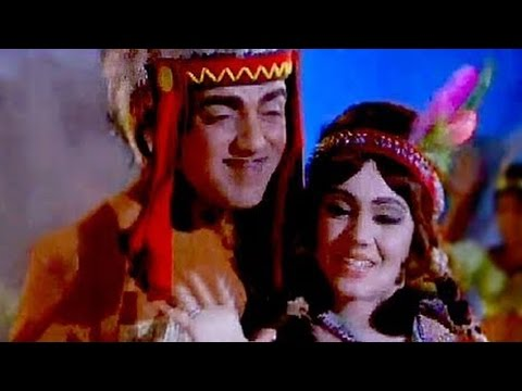 Naach Meri Jaan Fataafat - Mehmood, Jayshree T, Main Sundar Hoon Song (duet)