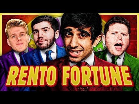 HE DOESN'T KNOW HOW TO PLAY MONOPOLY?! - RENTO FORTUNE