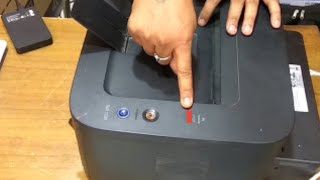how to reset dell 1130 laser printer
