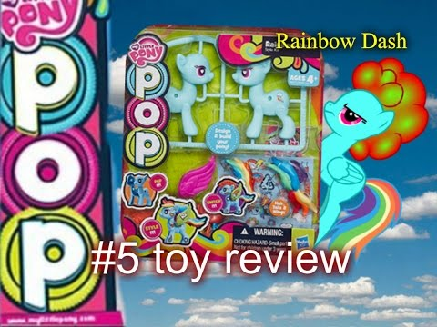 MLP - #5 Toys Review (Rainbow Dash Pop)