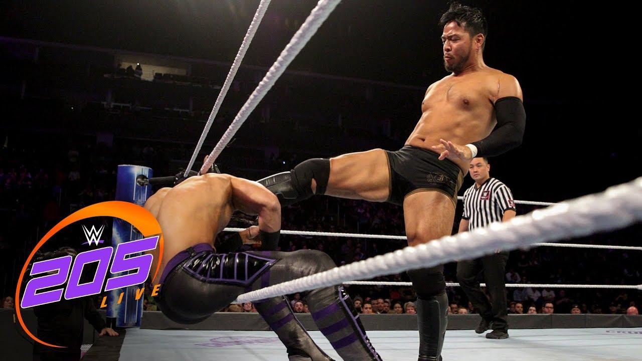 Download Mustafa Ali vs. Hideo Itami - Falls Count Anywhere Match: WWE 205 Live, Oct. 24, 2018