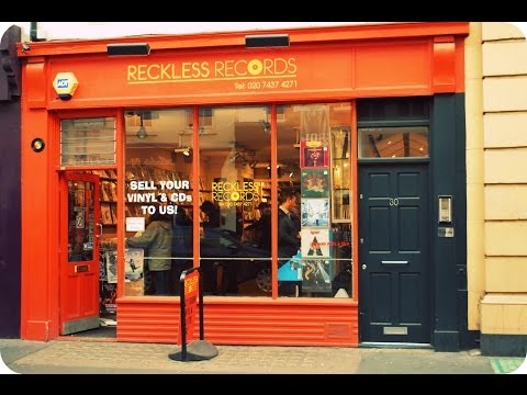 Record Store Walking Tour #22: Reckless Records (Soho, London)