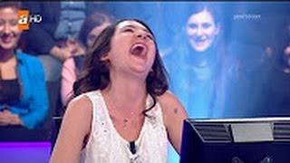 Kim milyoner olmak ister'de Gülme krizine giren yarışmacı Video