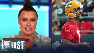 Aaron Rodgers and Green Bay set Packers up for their 'Last Dance' —Joy   NFL   FIRST THINGS FIRST