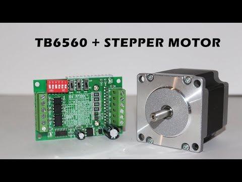 How To Run Stepper Motor Using TB6560 Stepper Driver
