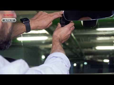 Установка Slimtec Alpha X2 Автомобильный видеорегистратор с WiFi модулем   Купить авторегистратор