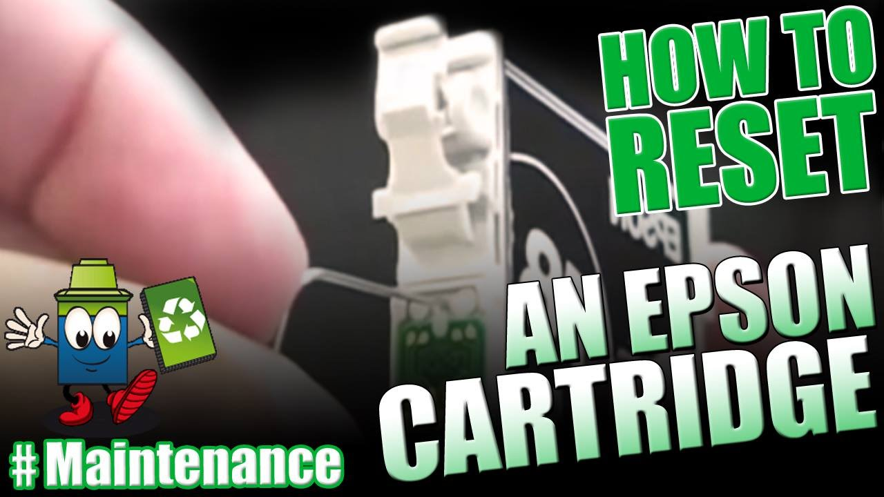 How To Reset An Epson Cartridge