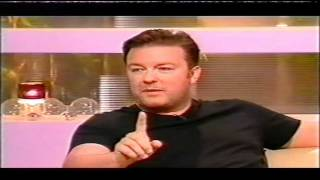 Ricky Gervais Richard and Judy interview 2005