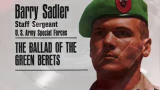 S/Sgt Barry Sadler - The Ballad Of The Green Berets - 1966 45rpm