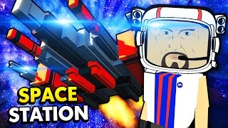 EPIC SPACE STATION MAP! (Best Workshop Creations - Paint The Town Red Funny Gameplay)