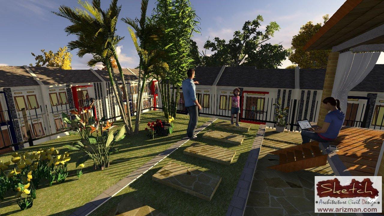Desain Taman Atap Rumah YouTube