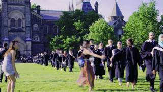 Clive Davies: oldest graduate at the U of T convocation