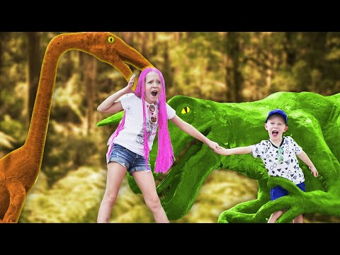 НАШЛИ ЗАБРОШЕННОЕ Место в ТАЙЛАНДЕ с Динозаврами Или ЧЕЛЛЕНДЖ Пугающий СКЕЛЕТ ДИНОЗАВРА
