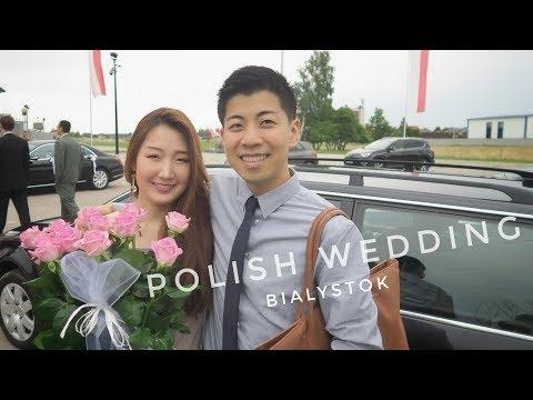 BEING THE ONLY ASIANS IN THIS POLISH WEDDING - Bielsk Podlaski, Poland, Vlog Ep 74