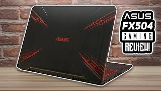 ASUS TUF FX504 Gaming Review! - Performance Test In Games!