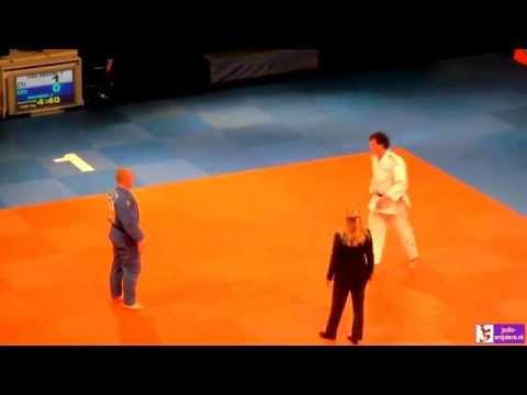 Judo 2014 Dutch Championships: van Gestel (ZN) - Havers (MN) [-100kg] rep