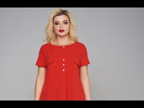 Блузка Мари-Лайн 1878 красный
