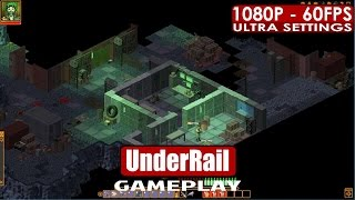 UnderRail gameplay PC HD [1080p/60fps]