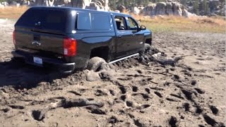 MY TRUCK GOT STUCK!!